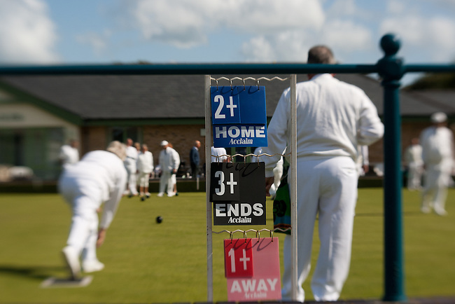 Home match for Ryde Bowling club