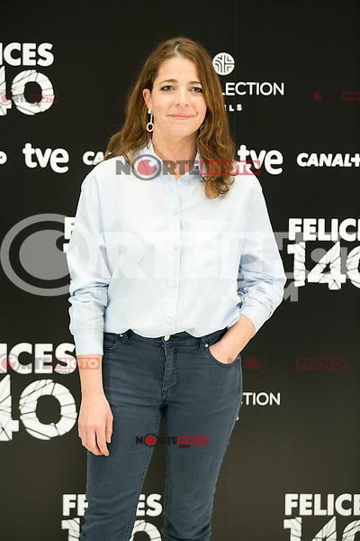 """Nora Navas attend the Presentation of """"Happy 140"""" (Felices 140) Movie at Eurobuilding Hotel, Madrid,  Spain. April 07, 2015.(ALTERPHOTOS/)Carlos Dafonte) /NORTEphoto.com"""