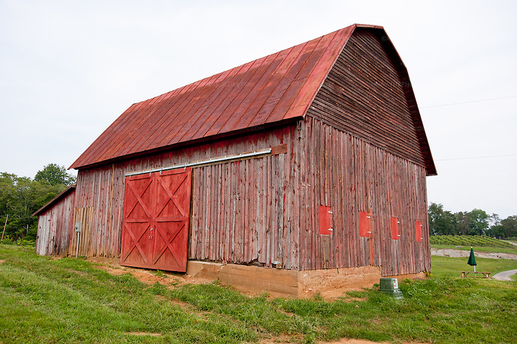 The old barn at Hume Vineyards.