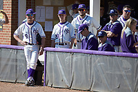 The High Point Panthers wait for the game to start against the NJIT Highlanders at Williard Stadium on February 19, 2017 in High Point, North Carolina. The Panthers defeated the Highlanders 6-5. (Brian Westerholt/Four Seam Images)