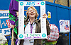 Junior Doctor Strike<br /> outside the Royal London Hospital, Whitechapel, London, Great Britain <br /> 12th January 2016 <br /> <br /> <br /> NHS Industrial action by Junior Doctors <br /> <br /> Photograph by Elliott Franks <br /> Image licensed to Elliott Franks Photography Services