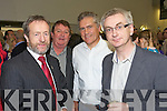 Sean Kelly, Dan Kiely, Ger Power and Colin Lacey pictured at the launch of the book Eyewitness and the website the kennelllyarchive.com in the library of the IT Tralee north campus on Thursday.