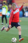 18 JUN 2010: Stuart Holden (USA). The Slovenia National Team tied the United States National Team 2-2 at Ellis Park Stadium in Johannesburg, South Africa in a 2010 FIFA World Cup Group C match.