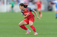 Bridgeview, IL - Saturday August 12, 2017: Hayley Raso during a regular season National Women's Soccer League (NWSL) match between the Chicago Red Stars and the Portland Thorns FC at Toyota Park. Portland won 3-2.