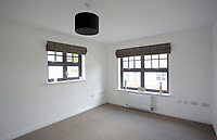 Pictured: Interior view of the lounge, in one affordable homes. Wednesday 26 April 2017<br /> Re: Waterstone Homes' most recent property development Howell's Reach, is in Derwen Fawr, Swansea and is made up of 13 luxury family homes, and also includes five affordable homes.