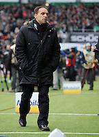 FUSSBALL   1. BUNDESLIGA   SAISON 2011/2012   21. SPIELTAG Werder Bremen - 1899 Hoffenheim                        11.02.201 Manager Ernst Tanner (Hoffenheim)
