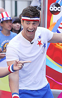 NEW YORK, NY-August 08: Rob Marciano at Good Morning America   going for GMAOlympic Gold in New York. NY August 08, 2016. Credit:RW/MediaPunch