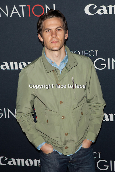 NEW YORK, NY - OCTOBER 24, 2013: Tom Lipinski attends the Premiere Of Canon's Project Imaginat10n Film Festival at Alice Tully Hall on October 24, 2013 in New York City. <br /> Credit: MediaPunch/face to face<br /> - Germany, Austria, Switzerland, Eastern Europe, Australia, UK, USA, Taiwan, Singapore, China, Malaysia, Thailand, Sweden, Estonia, Latvia and Lithuania rights only -