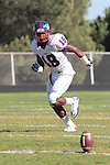 Palos Verdes, CA 09/24/10 - Marquis Murray (Serra #18)  in action during the Serra-Peninsula varsity football game at Peninsula High School.