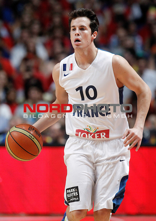 France's Thomas Heurtel during friendly match.August 23,2012. Foto © nph / Acero)