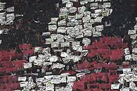 Milano 03-08-2017 Stadio San Siro Giuseppe Meazza - Europa League Milan - Craiova foto Matteo Gribaudi/Image Sport/Insidefoto<br /> nella foto: coreografia tifosi Milan Supporters