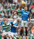 29.04.18 Celtic v Rangers: Kristoffer Ajer and Jason Cummings