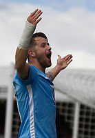 Marc McNulty of Coventry opens the scoring during Grimsby Town vs Coventry City, Sky Bet EFL League 2 Football at Blundell Park on 12th August 2017