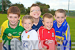 Shane Courtney, Sean Doherty, Brendan Wall, Cathal O'Shea and Liam Hogan at the Glenflesk fun day on Sunday.   Copyright Kerry's Eye 2008