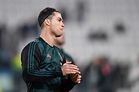 Cristiano Ronaldo of Juventus warms up. hair style <br /> Torino 26/11/2019 Juventus Stadium <br /> Football Champions League 2019//2020 <br /> Group Stage Group D <br /> Juventus - Atletico Madrid <br /> Photo Andrea Staccioli / Insidefoto