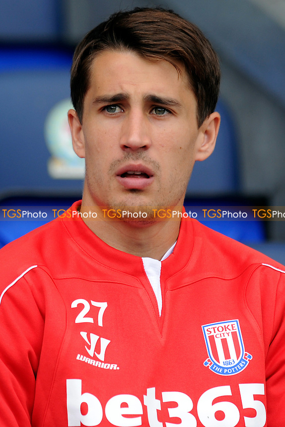New signing Bojan Krkic of Stoke City - Blackburn Rovers vs Stoke City - Pre-Season Friendly Football Match at Ewood Park, Blackburn, Lancashire - 03/08/14 - MANDATORY CREDIT: Greig Bertram/TGSPHOTO - Self billing applies where appropriate - contact@tgsphoto.co.uk - NO UNPAID USE