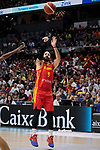 Ricky Rubio of Spain during the Friendly match between Spain and Dominican Republic at WiZink Center in Madrid, Spain. August 22, 2019. (ALTERPHOTOS/A. Perez Meca)