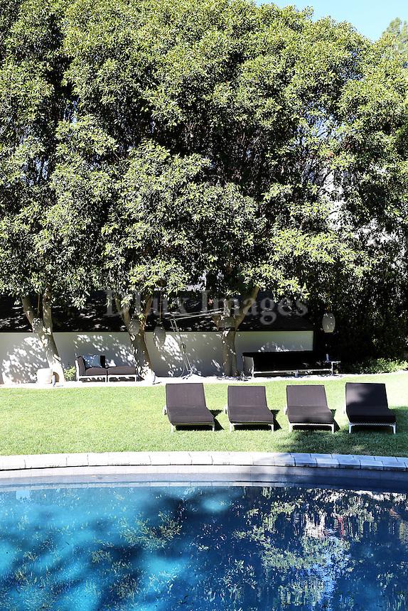 Bob and Courtney Novogratz home in Hollywood California.