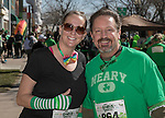 Julie and Jason during the Shamrock Shuffle 5k fun run in Sparks on Saturday, March 4, 2017.