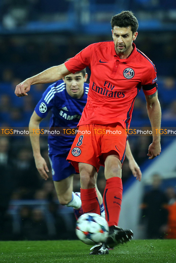Thiago Motta of Paris SG - Chelsea vs Paris St Germain - UEFA Champions League Round of 16 2nd Leg Football at Stamford Bridge, London - 11/03/15 - MANDATORY CREDIT: Paul Dennis/TGSPHOTO - Self billing applies where appropriate - contact@tgsphoto.co.uk - NO UNPAID USE