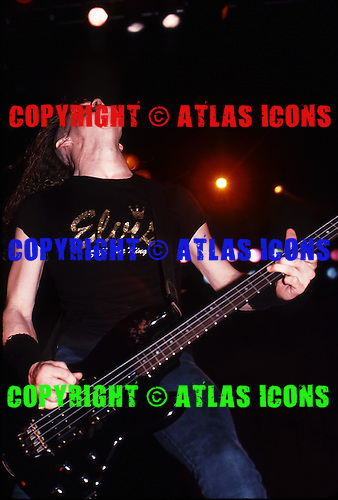 Metallica; 1988; .Photo Credit: Eddie Malluk/Atlas Icons.com
