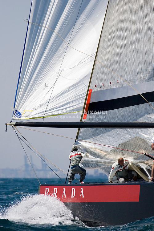 Luna Rossa Challenge -  - LOUIS VUITTON CUP - ROUND ROBIN 2 - FLIGHT 9 - 2007 may 07