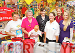 Pictured at Garvey's baby and toddler event on Friday, from left: Mary Harris, Anne O'Donnell (Coisceim Natural Therapy Centre), Sandra Lynch (manager), Elaine Lynch, Debra Reid and Elaine O'Malley..