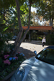 CALIFORNIA, Los Angeles, Belair Hotel entrance and Valet