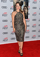 "LOS ANGELES, USA. November 20, 2019: Olga Kay at the gala screening for ""The Aeronauts"" as part of the AFI Fest 2019 at the TCL Chinese Theatre.<br /> Picture: Paul Smith/Featureflash"