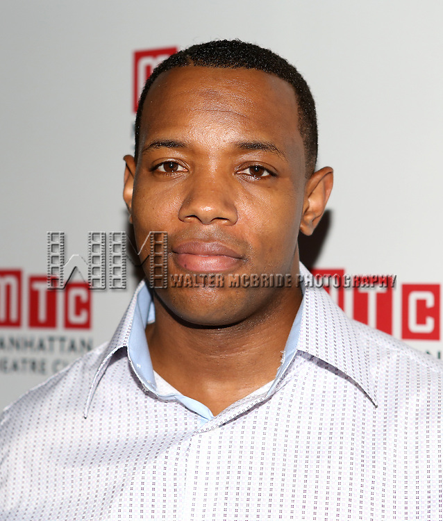 Wallace Smith attending the Opening Night Celebration for the MTC American Premiere of 'Choir Boy' at Inside Park at St. Bart's on July 2, 2013 in New York City.
