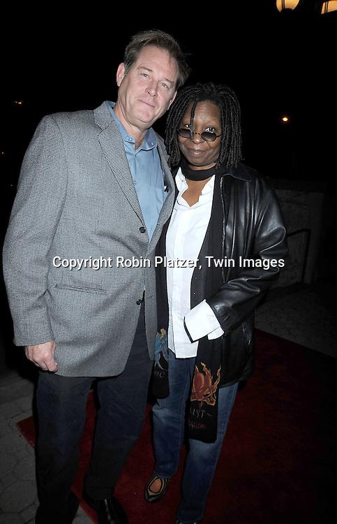 Brian Kerwin and Whoopi Goldberg