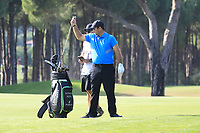 Patrick Reed (USA) during the final round of the Turkish Airlines Open, Montgomerie Maxx Royal Golf Club, Belek, Turkey. 10/11/2019<br /> Picture: Golffile | Phil INGLIS<br /> <br /> <br /> All photo usage must carry mandatory copyright credit (© Golffile | Phil INGLIS)