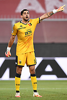 Mattia Perin of Genoa during the Serie A football match between Genoa CFC and SSC Napoli stadio Marassi in Genova ( Italy ), July 08th, 2020. Play resumes behind closed doors following the outbreak of the coronavirus disease. <br /> Photo Matteo Gribaudi / Image / Insidefoto