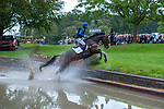 Stamford, Lincolnshire, United Kingdom, 7th September 2019, Arthur Chabert (FRA) riding Goldsmiths Imber during the Cross Country Phase on Day 3 of the 2019 Land Rover Burghley Horse Trials, Credit: Jonathan Clarke/JPC Images