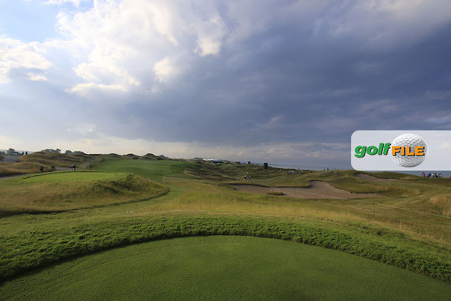 The 11th tee during Monday's Practice Day of the 97th US PGA Championship 2015 held at Whistling Straits, Mosel, Kohler, Wisconsin, United States of America. 10/08/2015.<br /> Picture Eoin Clarke, www.golffile.ie
