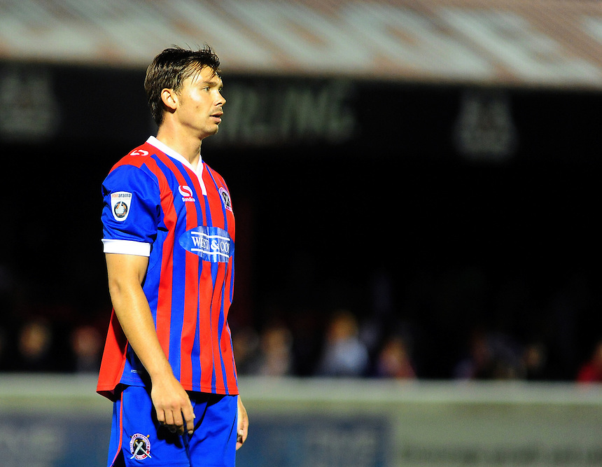 Dagenham and Redbridge's Craig Robson<br /> <br /> Photographer Andrew Vaughan/CameraSport<br /> <br /> Football - Vanarama National League - Dagenham &amp; Redbridge v Lincoln City - Tuesday 16th August -  Chigwell Construction Stadium - London<br /> <br /> World Copyright &copy; 2016 CameraSport. All rights reserved. 43 Linden Ave. Countesthorpe. Leicester. England. LE8 5PG - Tel: +44 (0) 116 277 4147 - admin@camerasport.com - www.camerasport.com