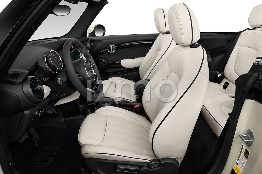 Front seat view of a 2019 Mini Cooper S Signature 2 Door Convertible front seat car photos