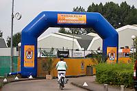 2013,{today month}{today day} Netherlands, Amstelveen,  TV de Kegel, Tennis, NVK 2013, National Veterans Tennis Champ,   Entree<br /> Photo: Henk Koster
