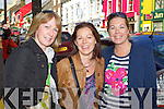 Enjoying Dingle Food festival on Saturday were from left: Heather Groves, Elma Huggard and Gina Griffin..