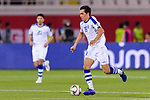 Otabek Shukurov of Uzbekistan in action during the AFC Asian Cup UAE 2019 Group F match between Japan (JPN) and Uzbekistan (UZB) at Khalifa Bin Zayed Stadium on 17 January 2019 in Al Ain, United Arab Emirates. Photo by Marcio Rodrigo Machado / Power Sport Images