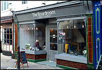 BNPS.co.uk (01202 558833)<br /> Pic:  RogerArbon/BNPS<br /> <br /> The Boardroom.<br /> <br /> A retirement town that is overspilling with coffee shops is to get its 15th after officials lost their bid to put a lid on them.<br /> <br /> Councillors in Christchurch, Dorset, refused a Coffee#1 permission to take over an empty shop because the town had too many cafes.<br /> <br /> But the national chain appealed the decision and have won their case.<br /> <br /> It means there will now be 15 coffee shops in a 500 metre stretch of the High Street - or one every 33 metres.
