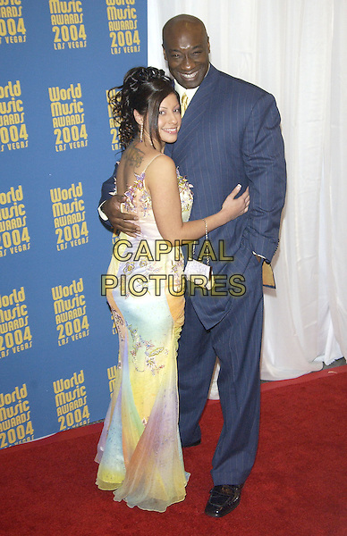 MICHAEL CLARKE DUNCAN.World Music Awards (WMA's), Las Vegas, Nevada, USA,.September 15th 2004..full length.Ref: PL.www.capitalpictures.com.sales@capitalpictures.com.©Capital Pictures.