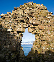 Ruins of Duntulm castle, Isle of Skye, Scotland