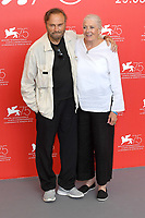 VENICE, ITALY - AUGUST: Italian actor Franco Nero and English actress Vanessa Redgrave attend a photocall for her Lifetime Achievement Award at Sala Casino on August 29, 2018 in Venice, Italy.<br /> CAP/BEL<br /> &copy;BEL/Capital Pictures