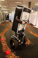 Activity inside Forum exhibition Hall, the site of the Bright Green Conference. United Nations Climate Change Conference (COP15) was held at Bella Center in Copenhagen from the 7th to the 18th of December, 2009. A great deal of groups tried to voice their opinion and promote their cause in various ways. The conference and demonstrations was covered by thousands of photographers and journalists from all over the world...©Fredrik Naumann/Felix Features.