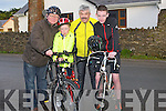 CYCLE: Training before the Jimmy Duffy,Blennerville, memorial cycle in Blennerville on Saturday morning, l-r: John and Jack Walsh, Pat Byrne and Killian Byrne.