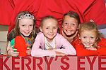 FUN TIME: Children from Mid Kerry who attended the Castlemaine Summer Camp on Friday last  at the Castlemaine Family Resource Centre..L/r. Niamh Carmody (Keel), Alanna Evans (Keel), Mickeala Collins (Firies) and Celine Ashe (Camp).   Copyright Kerry's Eye 2008