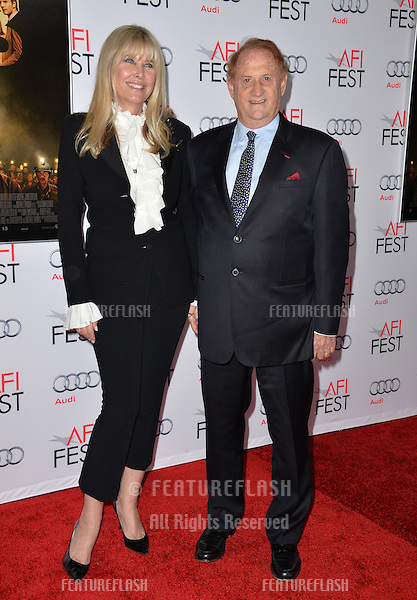 Producer Mike Medavoy &amp; wife Irena Ferris at the premiere of his movie &quot;The 33&quot;, part of the AFI FEST 2015, at the TCL Chinese Theatre, Hollywood. <br /> November 9, 2015  Los Angeles, CA<br /> Picture: Paul Smith / Featureflash
