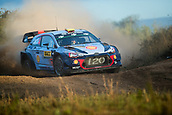 5th October 2017, Costa Daurada, Salou, Spain; FIA World Rally Championship, RallyRACC Catalunya, Spanish Rally; Andreas MIKKELSEN - Anders JAEGER of Hyundai Motorsport during the shakedown