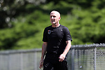 CARY, NC - MAY 04: Head coach Paul Riley. The North Carolina Courage held a training session on May 4, 2017, at WakeMed Soccer Park Field 6 in Cary, NC.